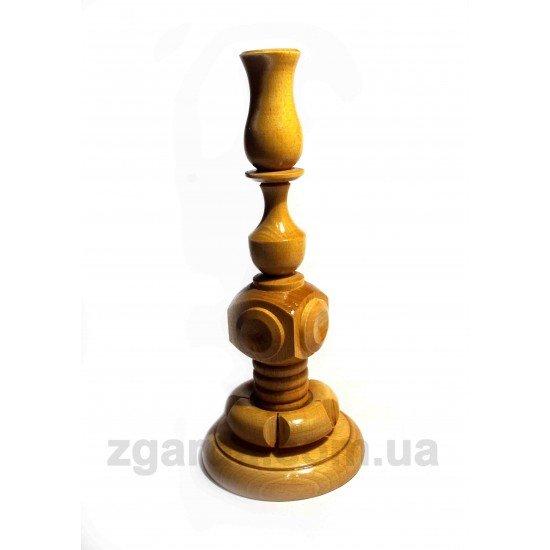 Подсвечник деревянный 11х26 (СД 01-08)