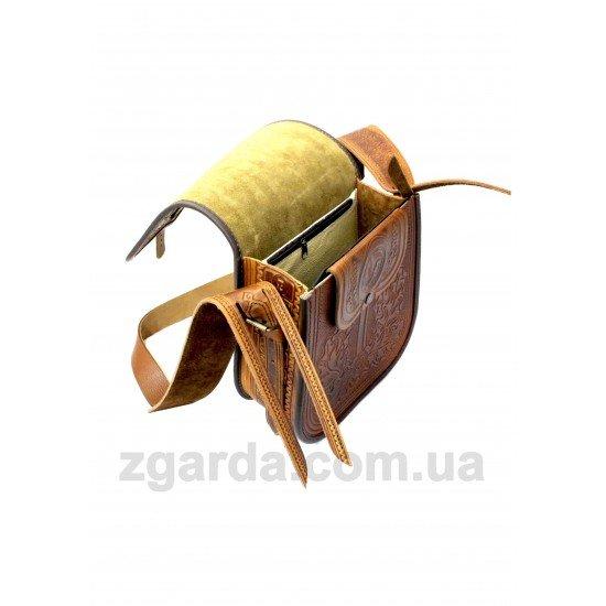 Кожаная сумка 26х25х10 (ШС 01-12)