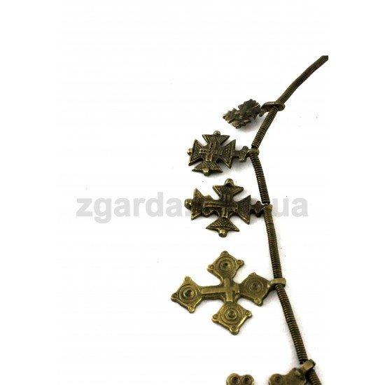 Згарда бронзовая 35х25 (ЗБ 01-02)