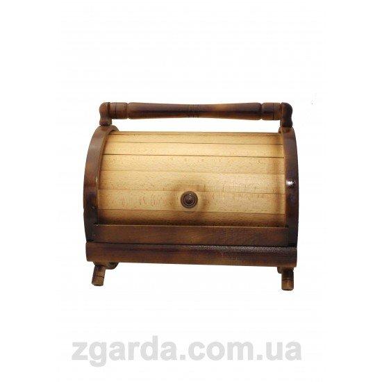 Хлебница деревянная 37х27х37 (ХД 01-06)