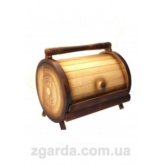 Хлебница деревянная 37х27х37 (ХД 01-05)