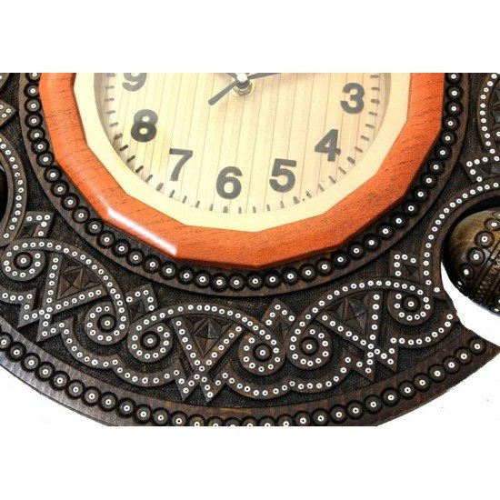 Часы деревянный диаметр 45 (ГД 01-05)