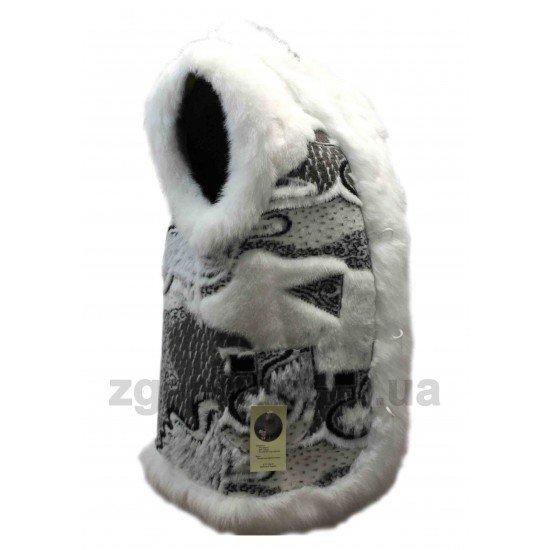 Безрукавка белая (ББ 01-10)