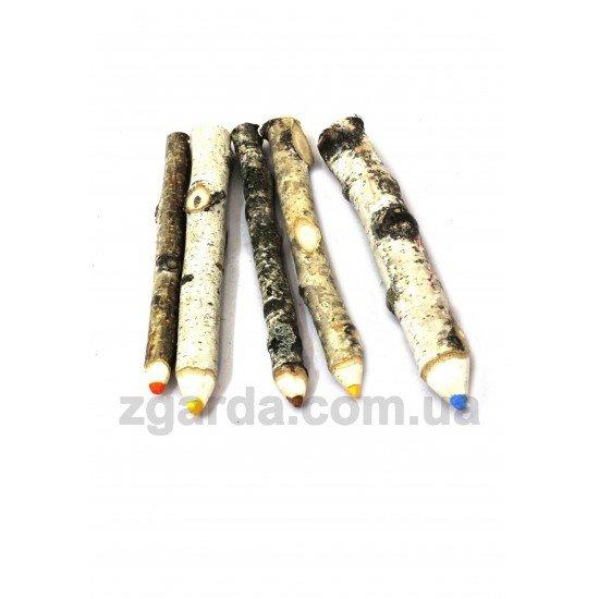 Березовый деревянный карандаш 20х2 (ОПТ 01-29)