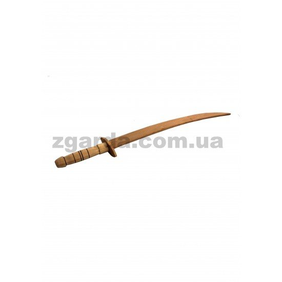 Деревянная сабля 65х10х3 (ОПТ 01-56)