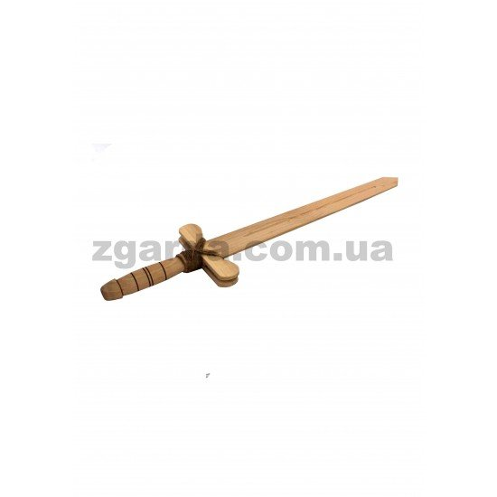 Деревянный меч 42х13х3 (ОПТ 01-57)