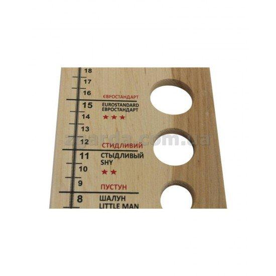 Сувенир деревянный 11х27 (СД 01-13)
