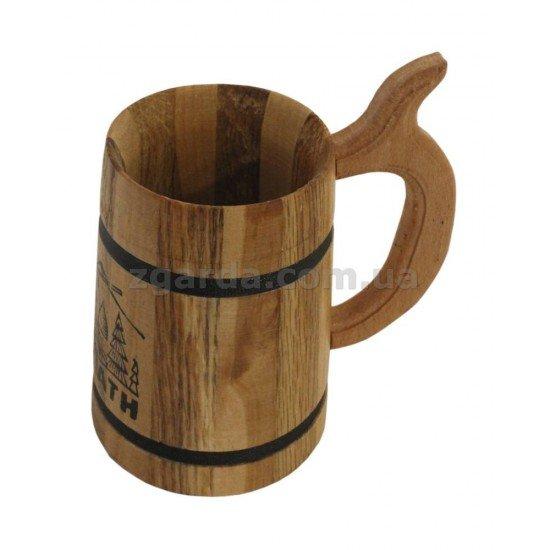 Бокал деревянный 13х8 0,25 л. (БД 01-21)
