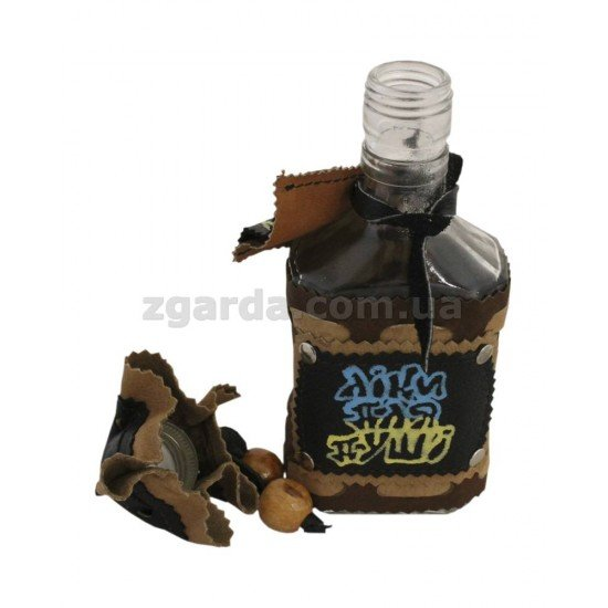 Пляшка шкіряна 22х5 (БШ 01-16)
