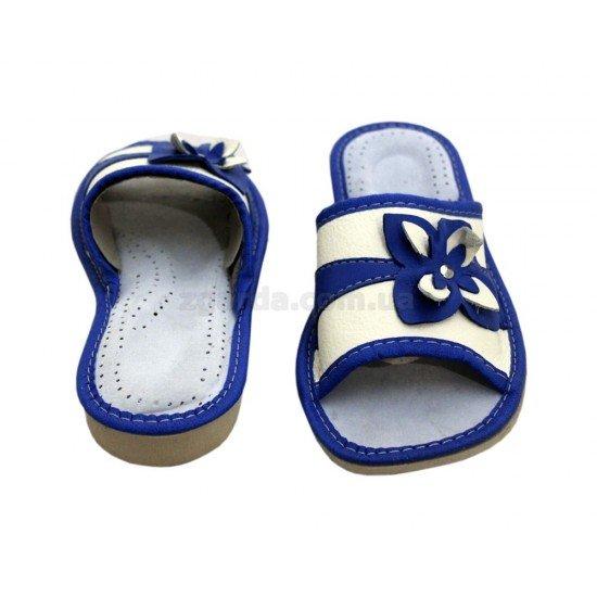 Тапочки кожаные  (ТШ 01-58)