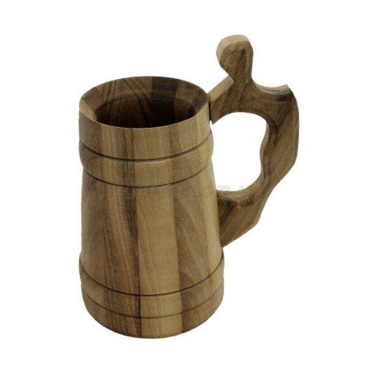 Бокал дерев'яний 16х10 0,5 л. (БД 01-37)