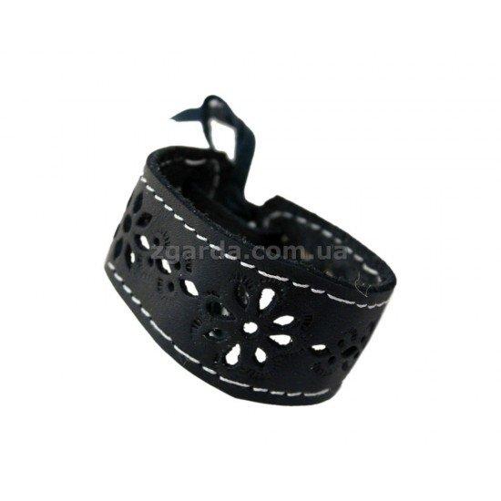 Браслет кожаный 16х3 (БШ 01-06)