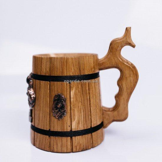 Бокал деревянный 0,5 л. (БД 01-70)