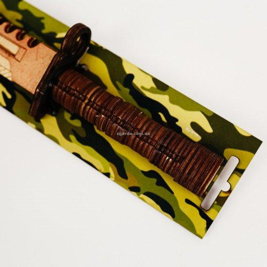 Деревянный  нож  33х8х4 (ОПТ 02-60)