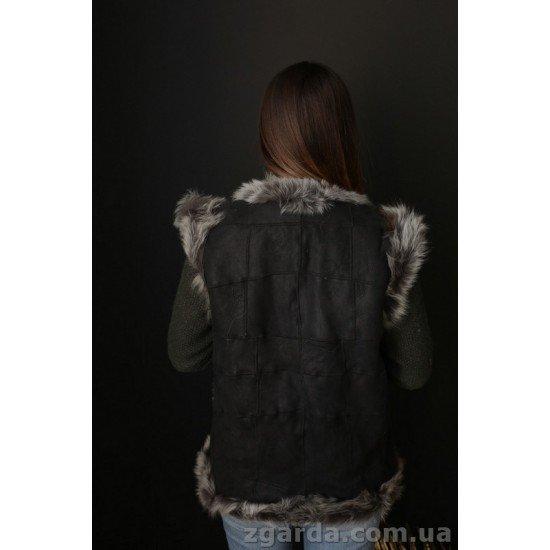 Безрукавка leather (ББ 01-07)