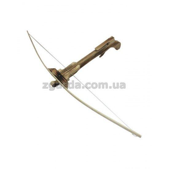 Арбалет деревянный 80х3х50 (ЛД 01-02)