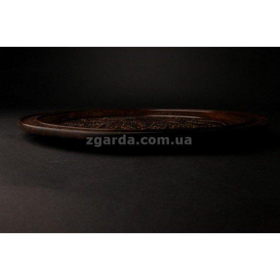 Тарелка резная диаметр 40  (ТР 01-36)