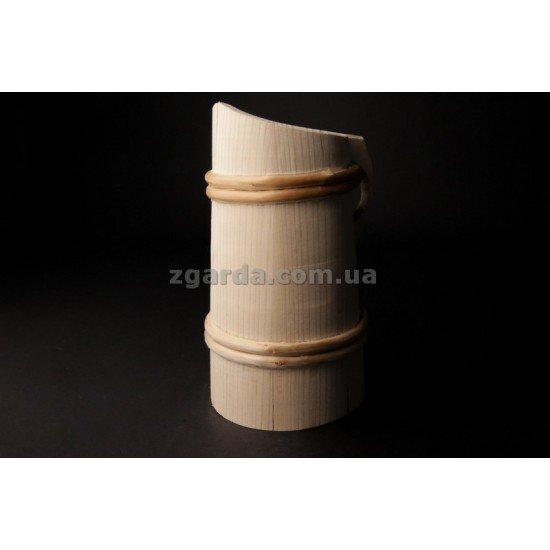 Бокал деревянный 0,5 л.  18х13 (БД 01-24)