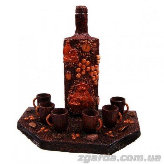 Бутылка деревянная 5х12х30 (ПД 01-06)