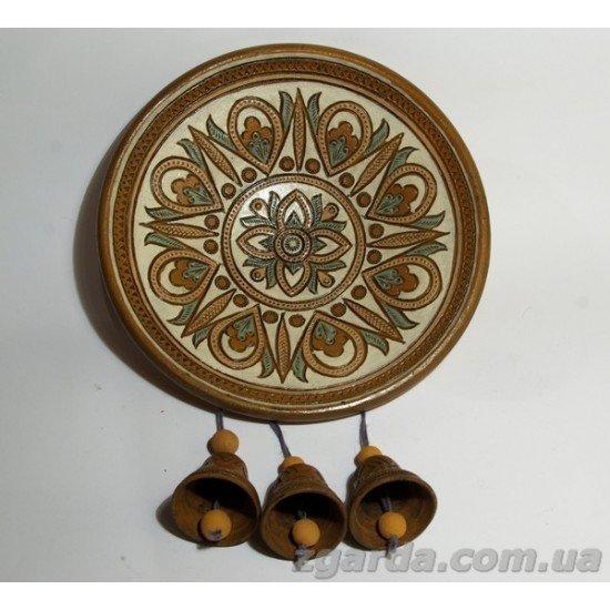 Тарелка с колокольчиками 22х27 (ТД 01-05)