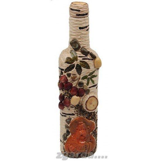 Бутылка деревянная 5х12х30 (ПД 01-02)