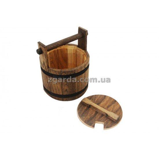 Бочка деревянная 13х11 (БД 01-43)