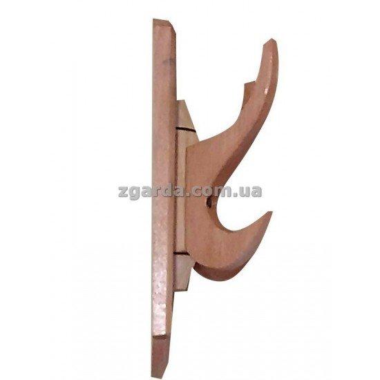 Вешалка деревянная 22х12х9 (ВД 01-60)