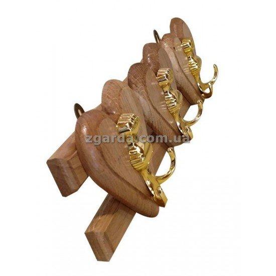 Вешалка деревянная 42х12х8 (ВД 01-62)
