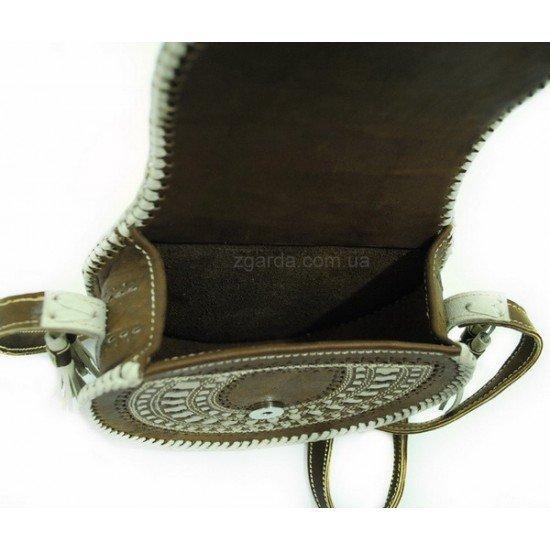 Кожаная сумка 19х18х7 (ШС 01-13)