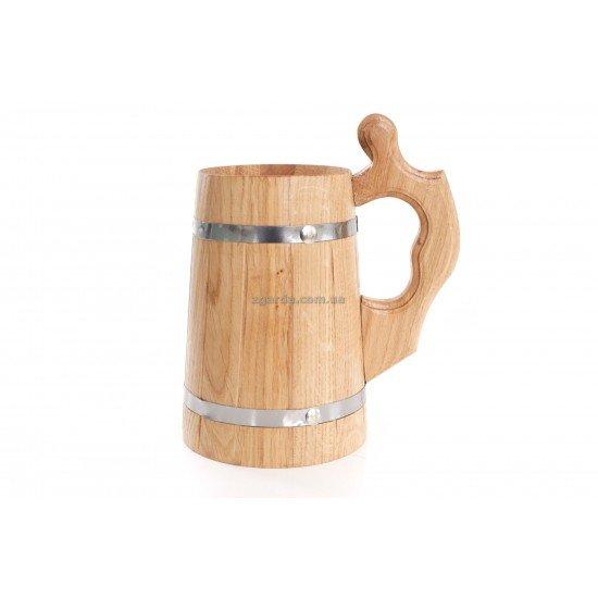 Бокал деревянный 0,5 л.  16х13 (БД 01-62)