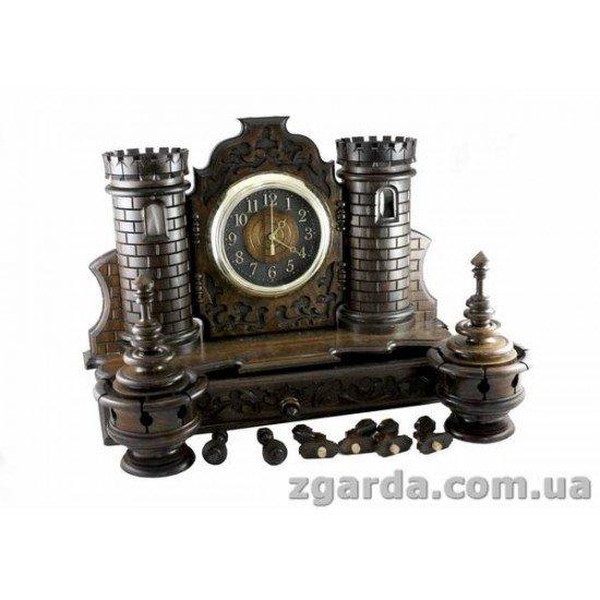 Часы деревянный 50х60х20 (ГД 01-01)