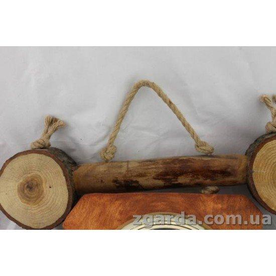 Часы деревянный 40х40х8 (ГД 01-03)