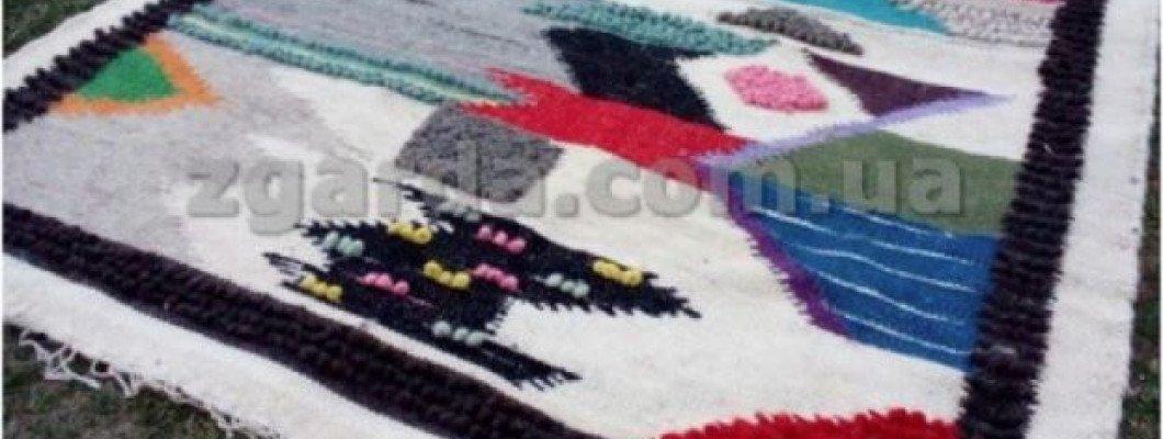 Карпатские шерстяные одеяла (лижныки)