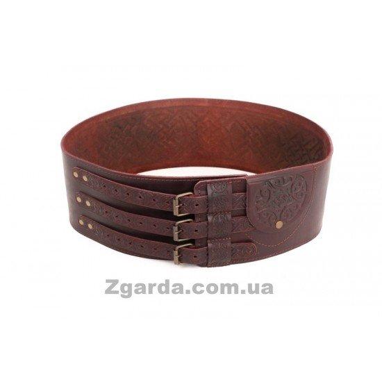 Пояс кожаный (ЧШ 01-14)